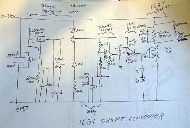 wind turbine shunt controller rh mindchallenger com High Voltage Regulator Basic Schematic 7805 Voltage Regulator Circuit